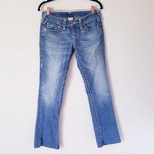 True Religion distressed denim jeans 27